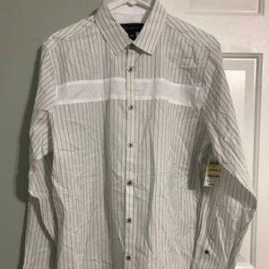 INC international men's Dress Shirt NWOT